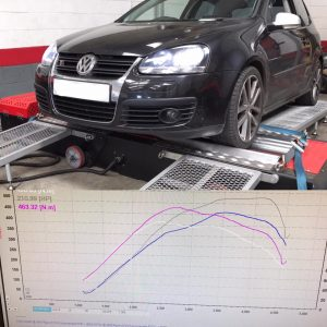 VW Golf Remap